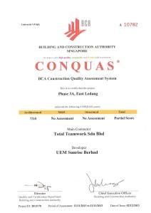 TTW-CONQUAS 3A